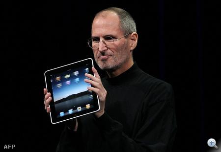 Az iPad bemutatója - 2010.