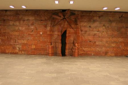 Kecskeméti kapu a Kálvin-téri aluljáróban (Fotó: Baranyi Elek. A kép a Panoramio rendszerből származik, így rá a tulajdonos szerzői jogai érvényesek.)