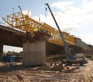 Dunára tolják az új M0 hidat