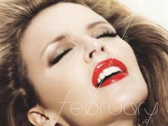 Kylie Minogue-ot elaléló arccal fotózták