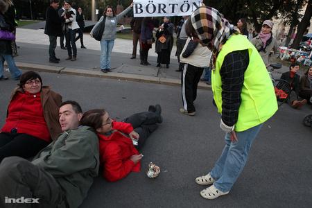 Egy másik októberi demonstráció