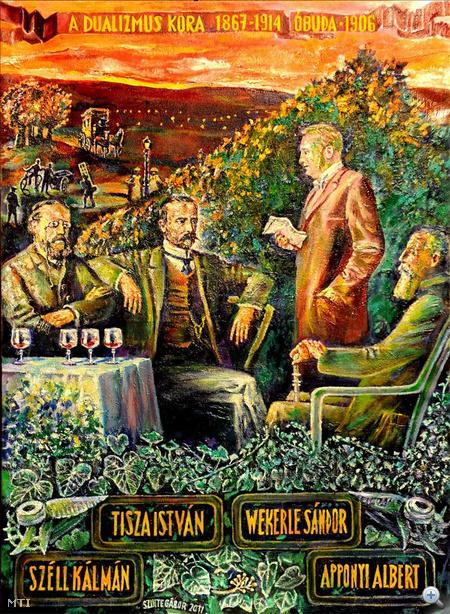 Szinte Gábor: A dualizmus kora (1867-1914) című alkotása