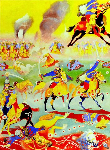 Somogyi Győző: Az első világháború (1914-1918) című alkotása