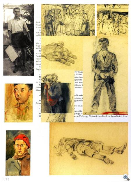 Kocsis Imre: Forradalom és szabadságharc (1956) című alkotása