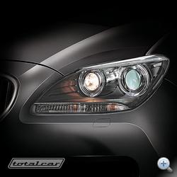 A BMW 6-os sorozat LED és xenon technológiás kombinált lámpatestje