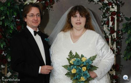 Alex és Pauline Potter esküvőjük napján