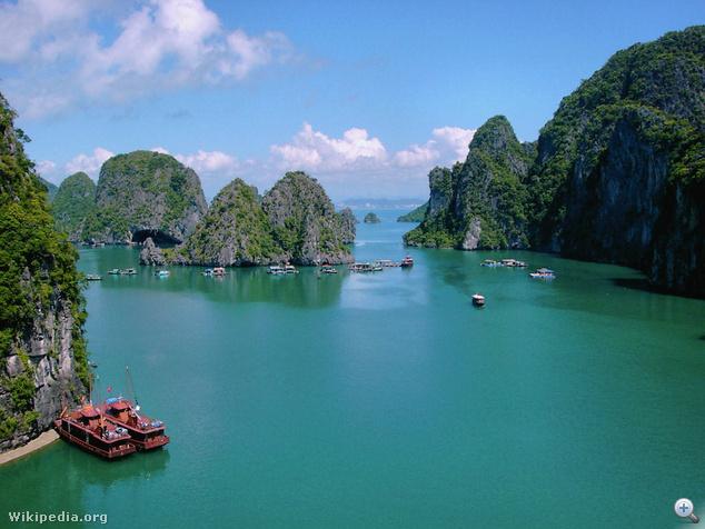 Hạ Long-öböl, Vietnam
