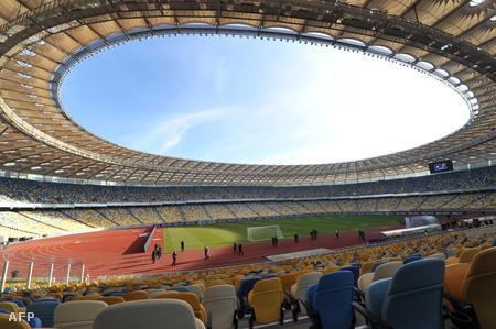 A kijevi olimpiai stadion, ahol a döntőt rendezik majd