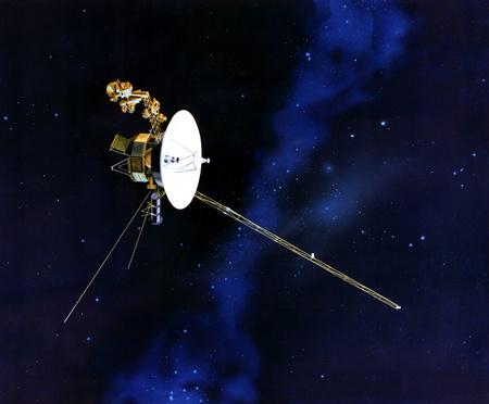 Fantáziarajz az egyik Voyagerről