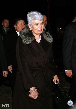 Jadranka Kosor horvát miniszterelnök, a Horvát Demokratikus Közösség (HDZ) vezetője a választási vereség után