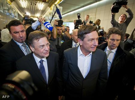 Zoran Jankovic és Borut Pahor vasárnap éjjel