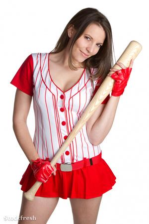 stockfresh 103039 sexy-baseball-girl sizeM