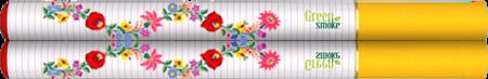 Elektromos cigi kalocsai köntösben -Valentin képe