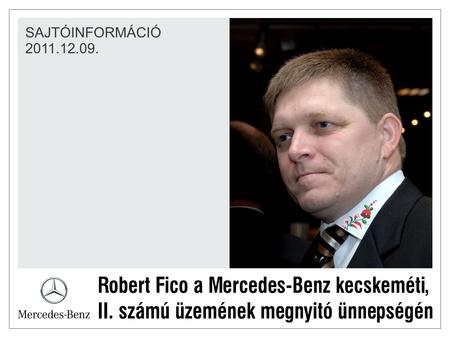 Kalocsai minta Robert Fico - B72 képe