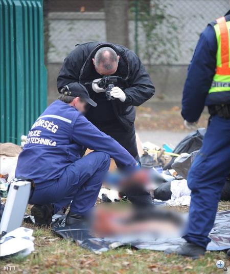 A rendőrség szerint ezek egy férfi végtagjai lehettek. Az MTI szerint azt is vizsgálják, hogy a testrészek kikerülhettek-e egy hullaházból