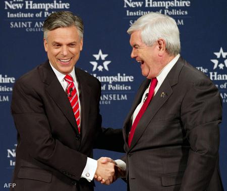 Jon Huntsman és Newt Gingrich
