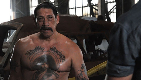 Danny Trejo a Halálfutam 2-ben (fotó: Universal)