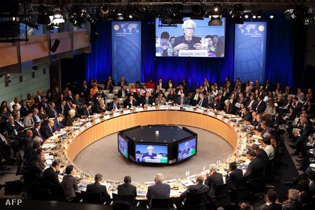 Az IMF Fejlesztési Bizottságának gyűlése Washingtonban