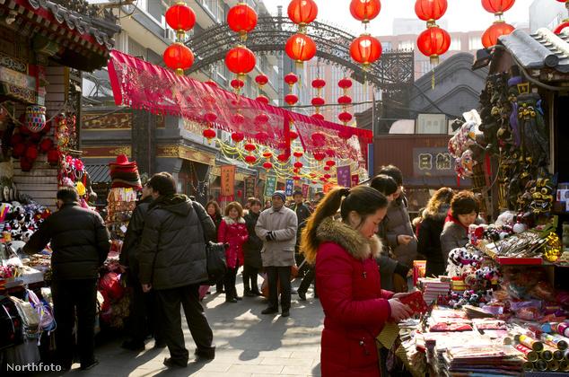 Wangfuging piac, Peking