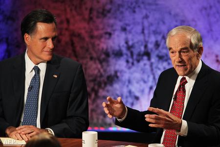 Mitt Romney és Ron Paul