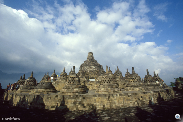 Borobudur, Jáva