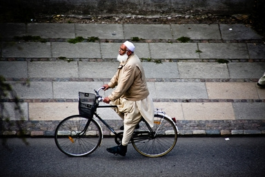 Mikael Colville-Andersen képe Koppenhágából