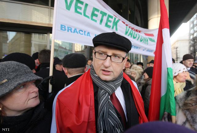 Stanislaw Pieta a lengyel nemzeti konzervatív Jog és Igazságosság párt parlamenti képviselője