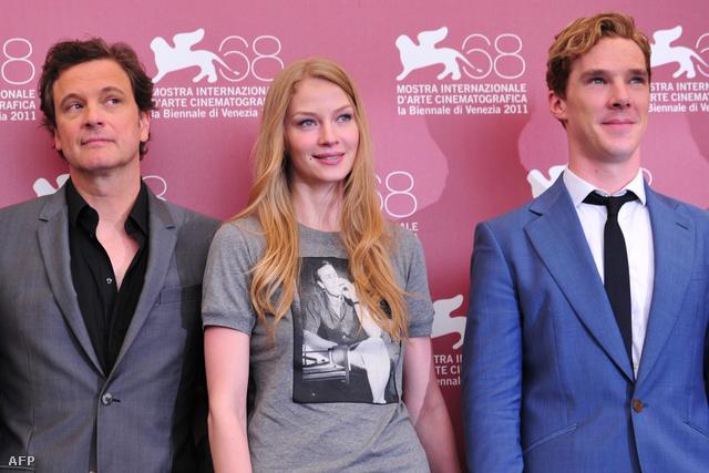 Colin Firth, Svetlana Khodchenkova és Benedict Cumberbatch