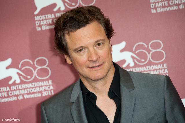 Colin Firth a Suszter, szabó, baka, kém bemutatóján