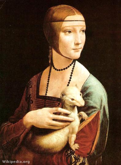 A világ egyik legértékesebb festménye: Hölgy hermelinnel