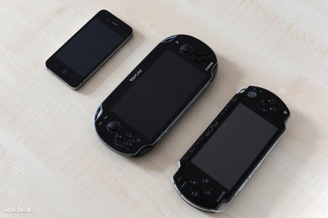 Méretarányok. Iphone, Vita, PSP.