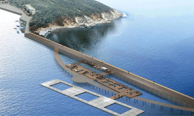 A partmenti halgazdaságokat bemutató kiállítótér