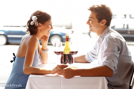 stockfresh 1176011 romantic-young-couple-sitting-at-a-restaurant