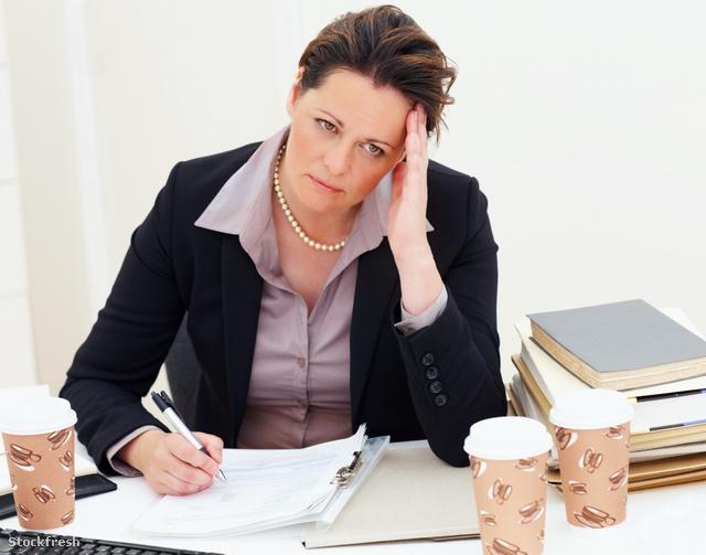 stockfresh 53802 upset-business-woman-at-work sizeM