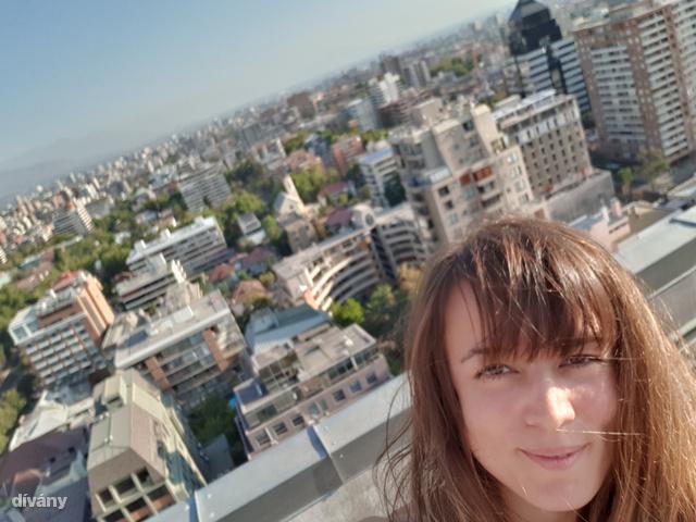 Második szállásom egy 24. emeletes épület legteteján volt, ahonnan ráláttam...