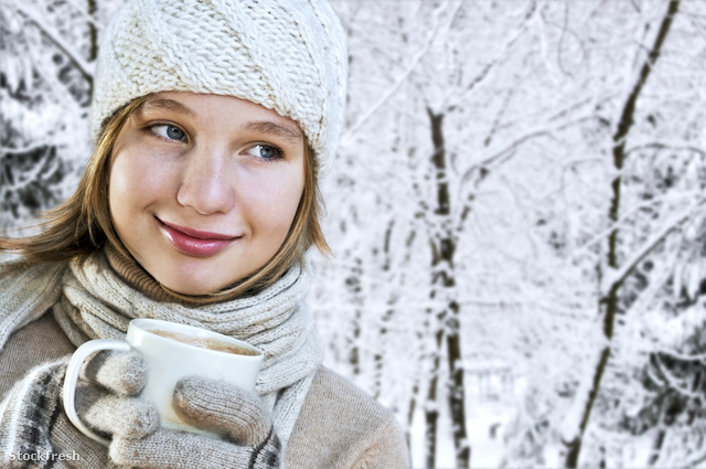 stockfresh 124465 winter-girl sizeM