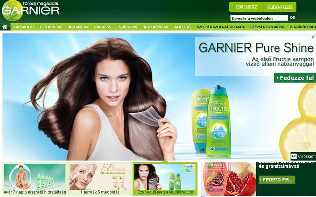A Garnier honlapján is a vízkővel szembesülünk.