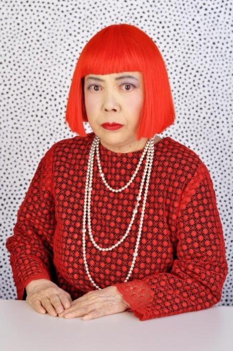 A 82 éves Yayoi Kusama