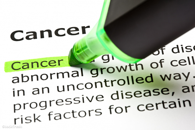 stockfresh 955228 cancer-highlighted-in-green sizeM