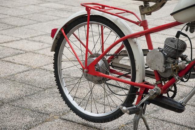 Kerekei akár egy hegyi kerékpáré.