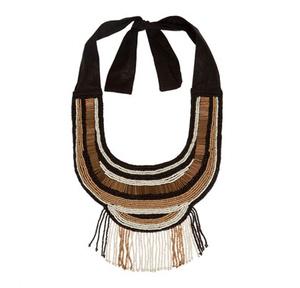 Zara: A bizsuknál a méret a lényeg. Ennek a nyakbavalónak az ára is elég impozáns, ugyanis 7595 forintba kerül.