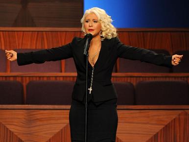 Howard Stern: Christina Aguilera már plus size