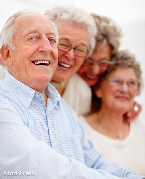 stockfresh 43723 group-of-smiling-older-people-together sizeM