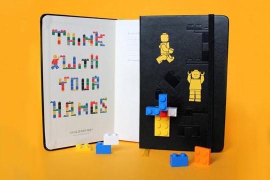 Legos jegyzetfüzet felnőtteknek