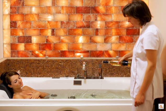 Boros fürdő az Andrássy Rezidencián