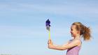 Pánikol a hatéves gyerek a széltől