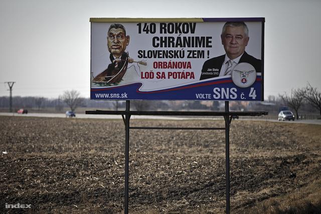 """""""140 éve óvjuk a szlovák földet. Orbán hajója elsüllyed."""""""