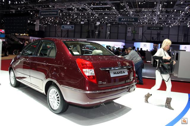 Van szedán is az Indica/Indigo alapjain, ez kicsit Nissan Tiida-utánérzés