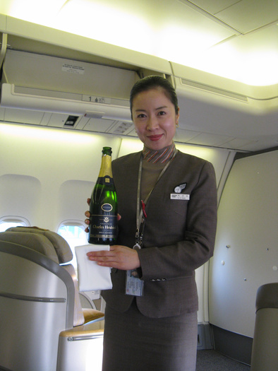 Asiana Airlines stewardess