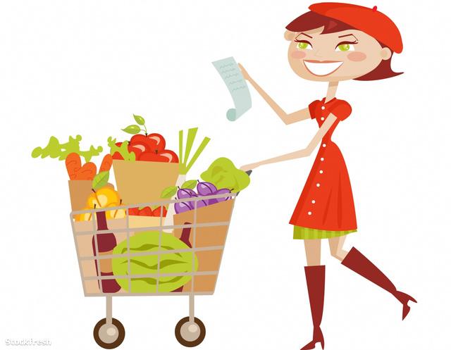 stockfresh 498397 shopping-woman-isolated sizeM